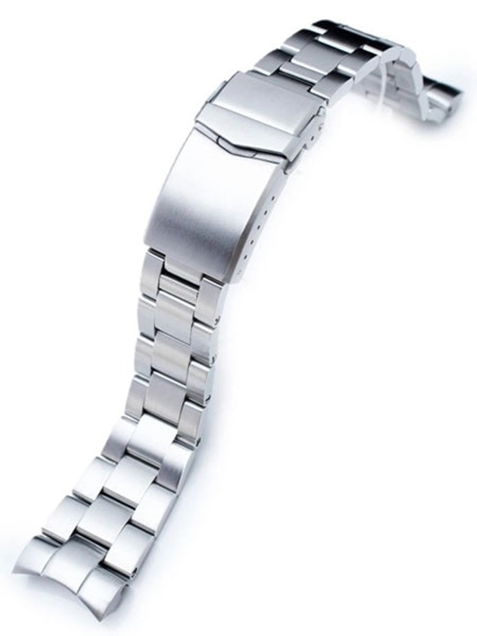 """Strapcode 22mm Super-O """"Boyer"""" watch band for Orient Mako II and Ray II #SS221803B061"""