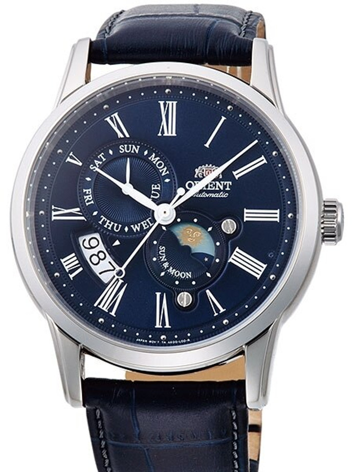 Scratch and Dent - Orient Version 3 Sun and Moon Automatic Watch with Hand Winding #AK00005D 1