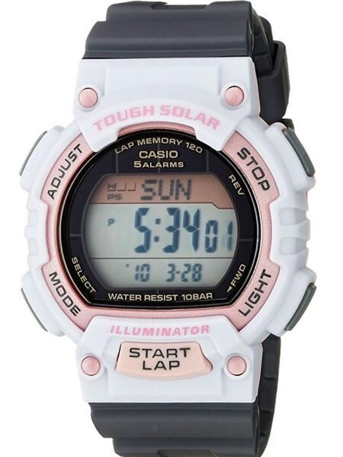 Casio Tough Solar-Light Powered Digital World Time Chronograph Alarm #STL-S300H-4ACF