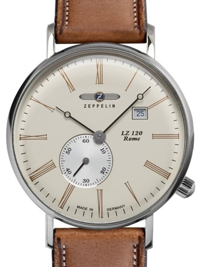 Graf Zeppelin LZ120 Rome Series Swiss Quartz Dress Watch #7134-5