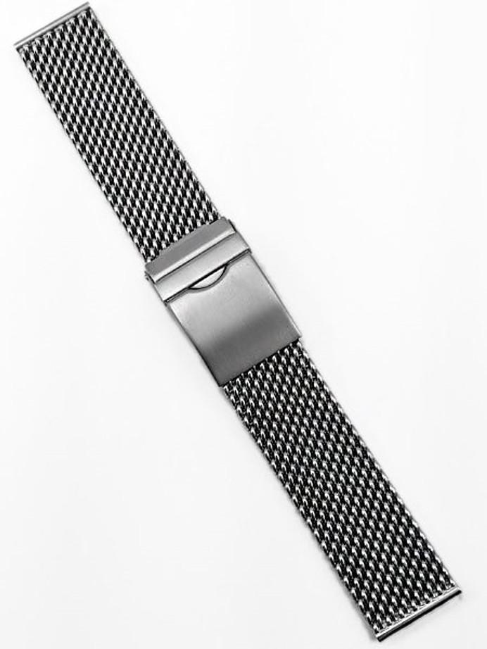 Vollmer Brushed Finish Stainless Steel Mesh Bracelet #17000H4 (20mm)