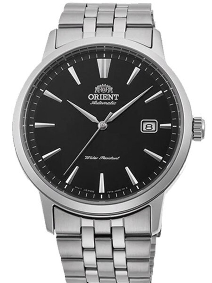 Orient Symphony III Automatic Dress Watch with Black Dial #RA-AC0F01B10A