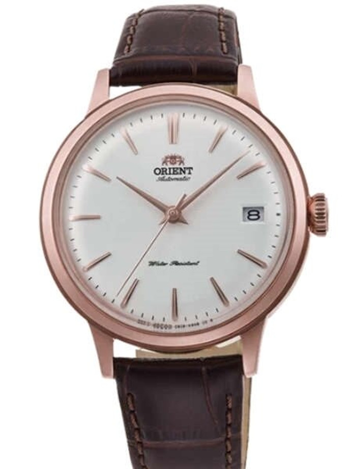 Orient 5S Automatic Dress Watch with 36.4mm Case, Perfect for Smaller Wrists #RA-AC0010S10A