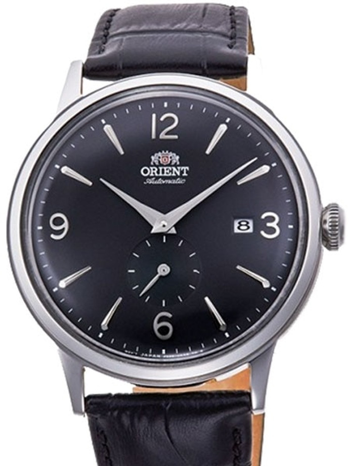 Orient Small Seconds Automatic Dress Watch with Black Dial #RA-AP0005B10A
