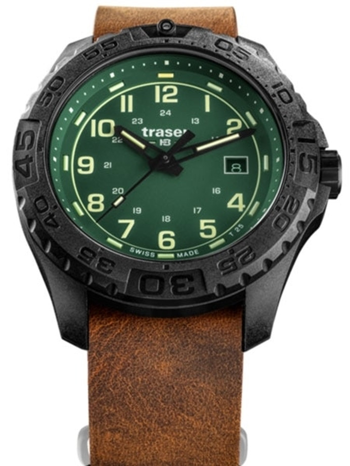 Traser Swiss Tactical Watch with Trigalight Illumination and AR Sapphire Crystal #109038
