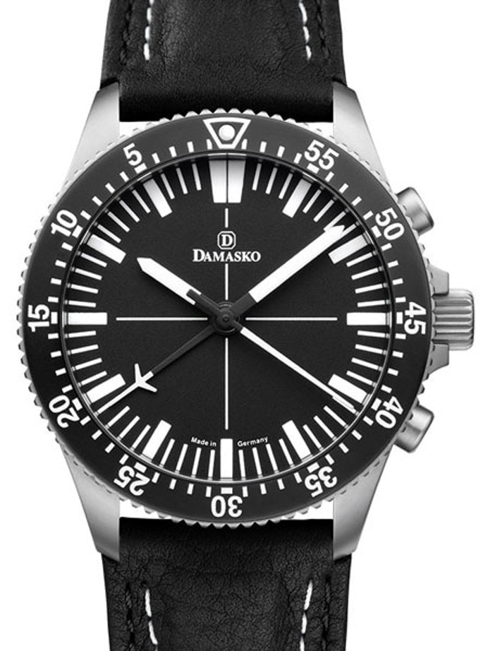 Damasko 42mm Chronograph with a Unique 60-Minute Stopwatch Function #DC80