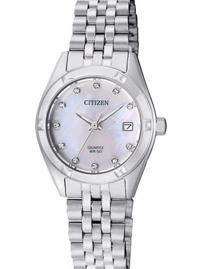 Citizen Ladies Dress Watch with with Mother of Pearl Dial #EU6050-59D