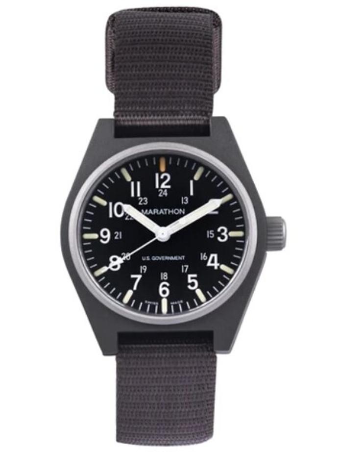 Marathon Swiss Made Quartz Military General Purpose Watch with MaraGlo Green Illumination #WW194009SG