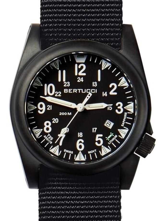 Bertucci A-5S Ballista Field Watch with Swiss Micro Tube Illumination #13550