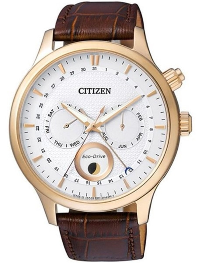 Citizen Eco-Drive Calendar Watch with Pointer Date, Sapphire Crystal #AP1052-00A