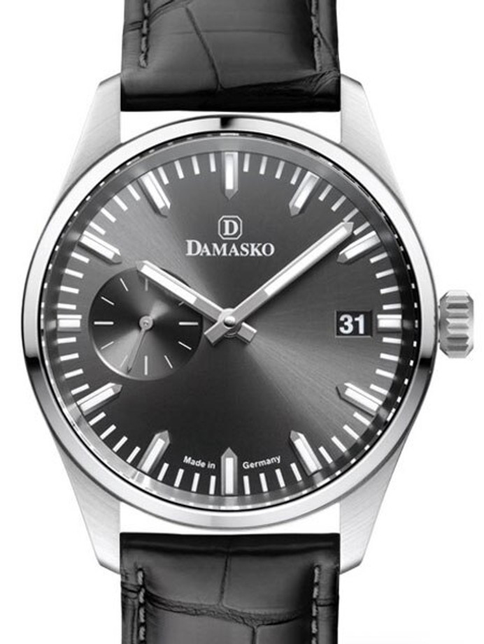 Damasko High-Beat Mechanical (Hand Wind) Watch with an Anthracite Dial Dial #DK105-A