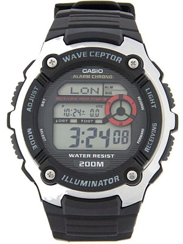 Casio Multi-Band ATOMIC Wave Ceptor Chronograph Alarm Watch #WV-200A-1AV