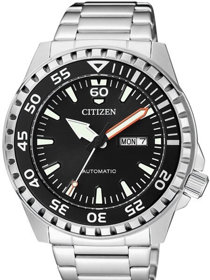 Citizen Automatic Sport Watch with Stainless Steel Bracelet #NH8388-81E