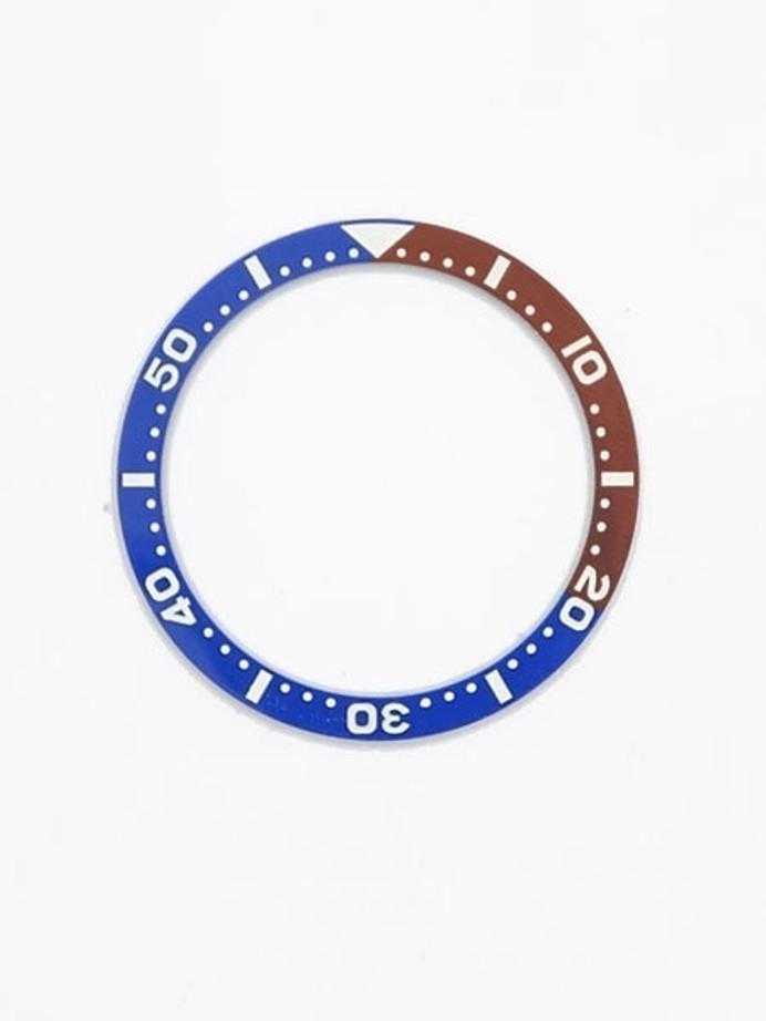 """Pepsi"" Ceramic Luminous Bezel Insert for Seiko SKX007, SKX009, SKX011 #C06"