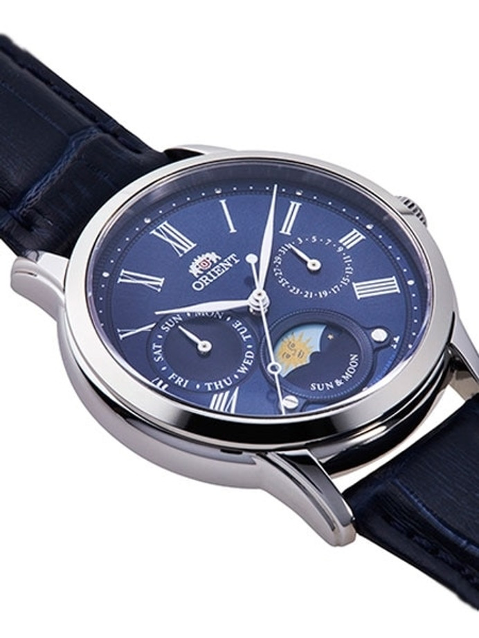 Orient Petite Sun and Moon Quartz Watch with Sapphire Crystal #RA-KA0004L10A