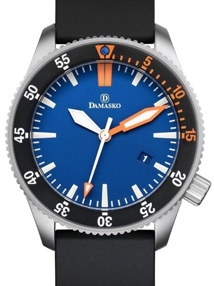 Damasko Swiss ETA Automatic 300 Meter Dive Watch with 43mm Submarine Steel Case #DSub2