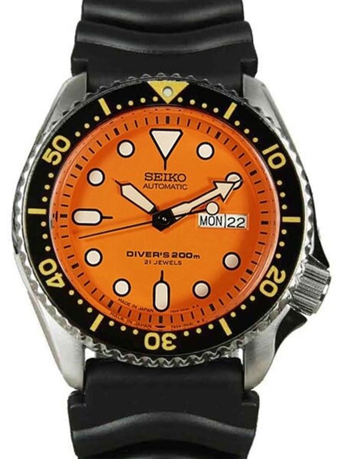 Customized Seiko Automatic Dive Watch #SKX011J1