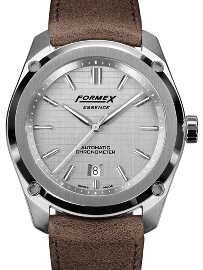Formex Essence Swiss Automatic Chronometer with Silver Dial #0330.1.6341.722