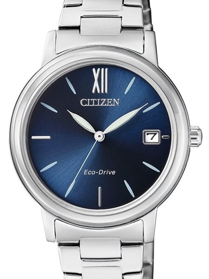 Citizen Ladies Eco-Drive Donna Watch with Radiant Blue Dial #FE6090-85L