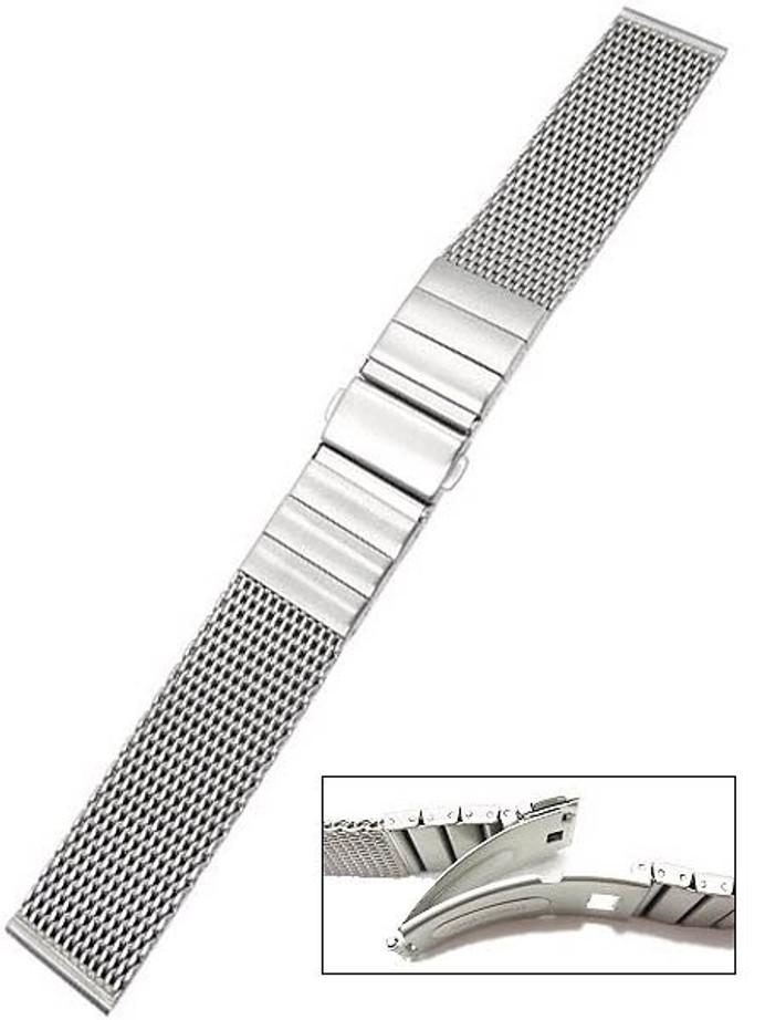 Vollmer Satin Finish Mesh Bracelet #0503SH7 (20mm)