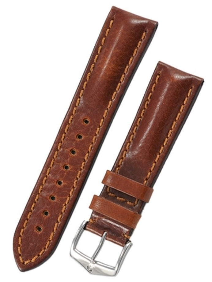 Hirsch Lucca Golden Brown Tuscan Leather Watch Strap #049020-70