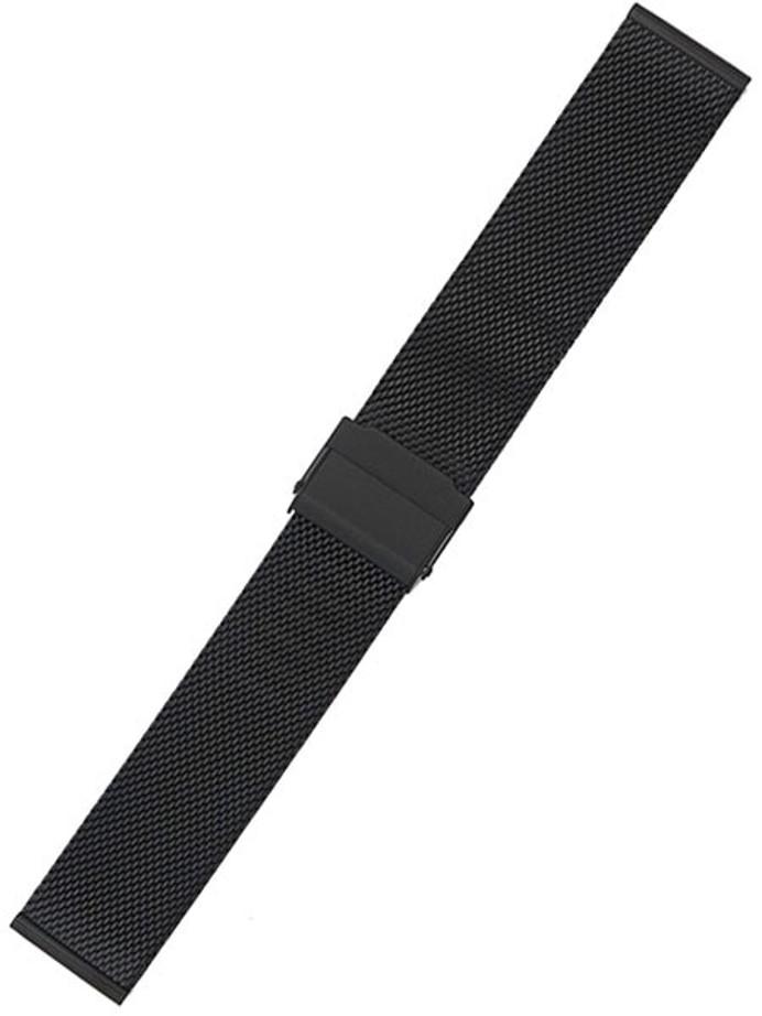 STAIB Polished Finish Milanaise Mesh Bracelet #ST-BK-2905-20803SBL (Straight End, 20mm)
