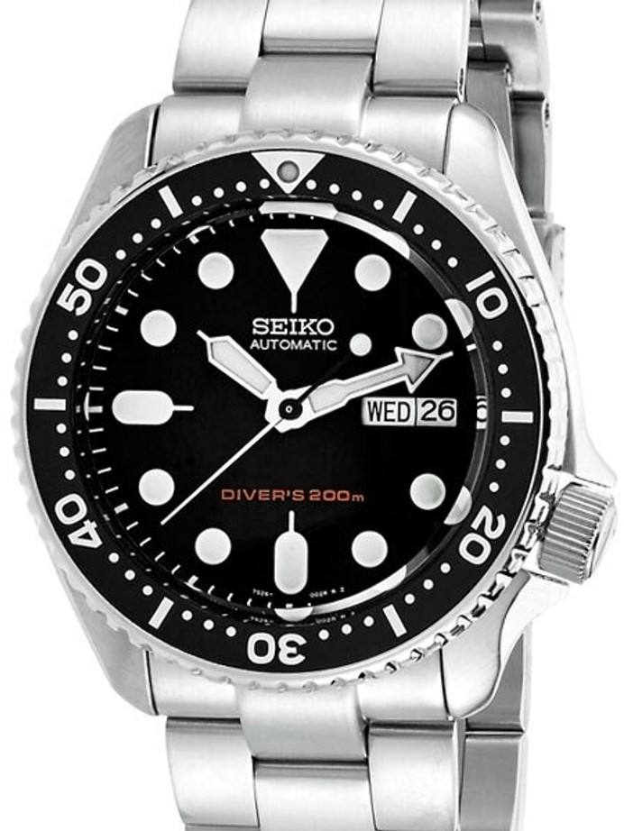 Seiko SKX Divers Watch Modded with a Double-Domed AR Sapphire Crystal #SKX007DD