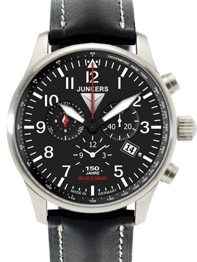 Junkers 150 Years Hugo Junkers Chronograph Alarm Watch #6684-2