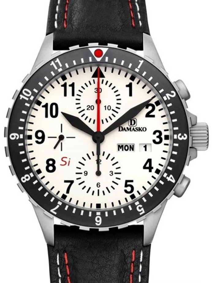 Damasko Swiss Valjoux 7750 Chronograph with a 60-Minute Stopwatch and 12-Hour Totalizer and #DC67SI