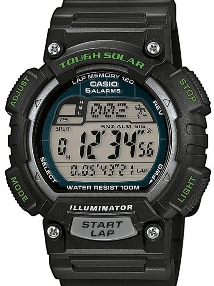 Casio Tough Solar-Light Powered Digital World Time Chronograph Alarm #STL-S100H-1AV
