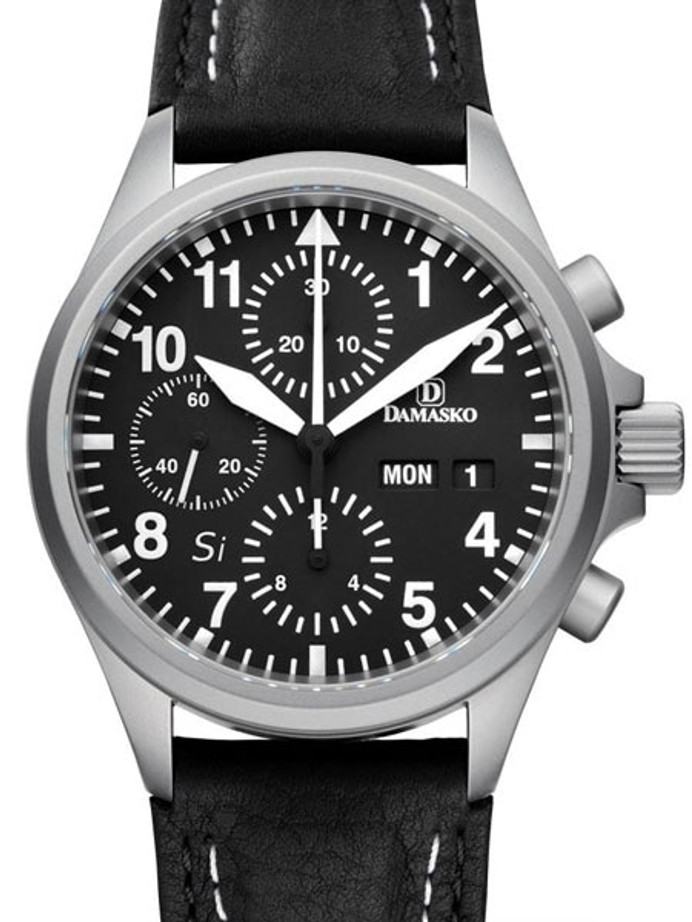 Damasko Swiss Valjoux 7750 Chronograph with a 60-Minute Stopwatch and 12-Hour Totalizer #DC56SI