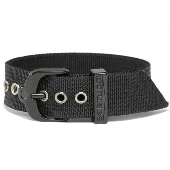 Bertucci Black 2-Ply Nylon Strap with Black PVD Stainless Steel Buckle #1