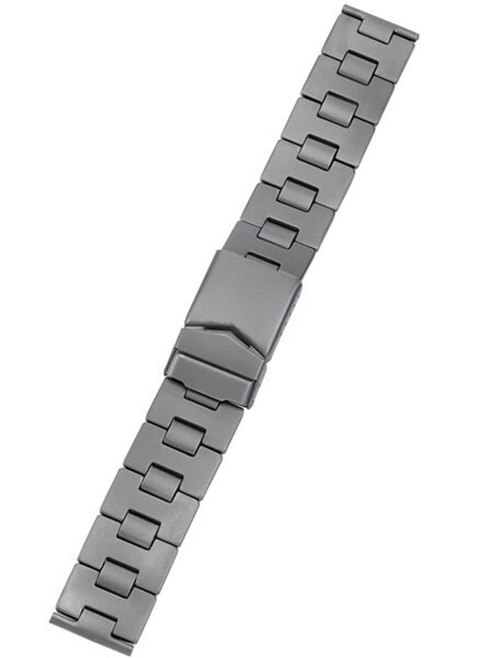 Vollmer Matte Finish Titanium Bracelet with Deployant Clasp #03251H5-20 (20mm)