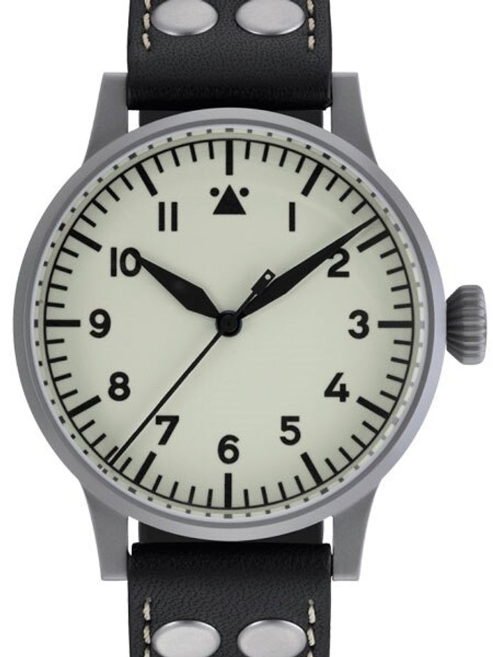 Laco Venedig Pilot watch, Swiss Automatic, Type-A Luminous Dial #861894