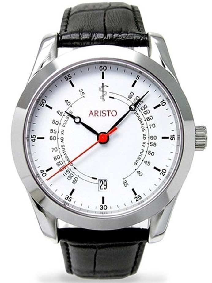 Aristo 4H124 Doctor's, Medic's Watch with Swiss Automatic Movement