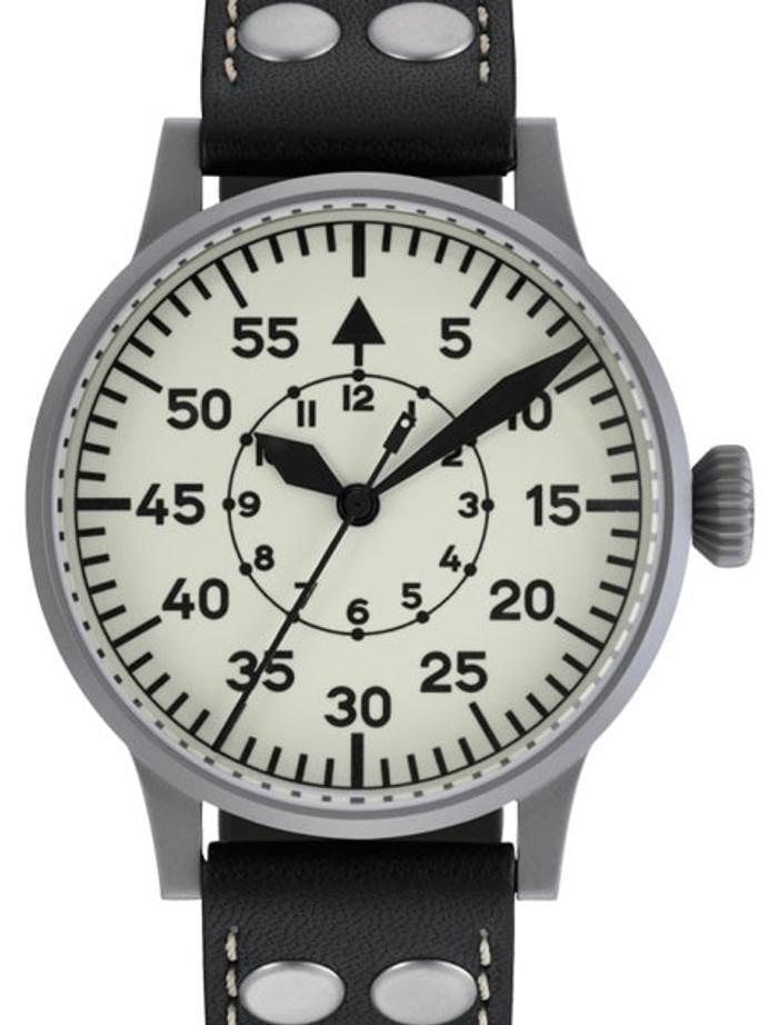Laco Wien Pilot watch, Swiss Automatic, Type-B Luminous Dial #861893