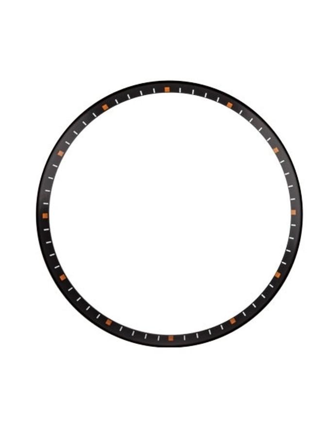 Matte Black Chapter Ring for Seiko SKX007, SKX009, SKX011 Watches #R02