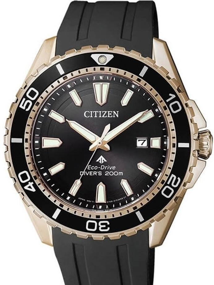Citizen Eco-Drive Promaster 200 Meter Scuba Diver Watch with Dive Strap #BN0193-17E