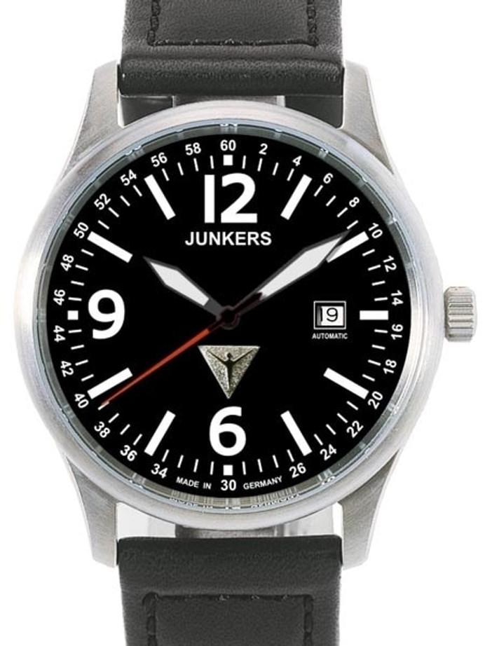 Junkers  G-38 Titanium Swiss ETA Automatic Watc with Sapphire Crystal #6272-2