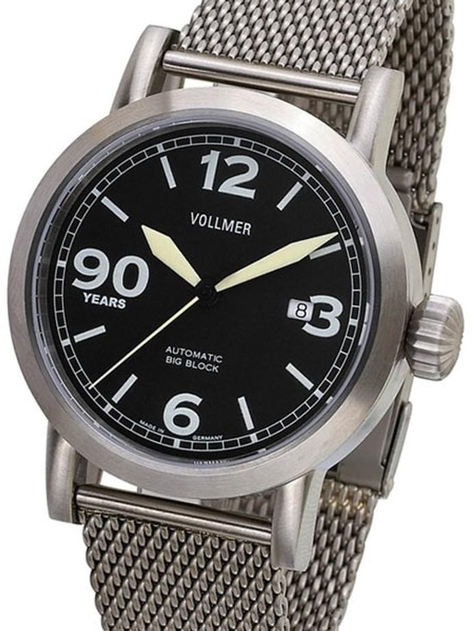 Vollmer Limited Edition, V-10 90th Anniversary Big Block Swiss ETA Automatic Watch