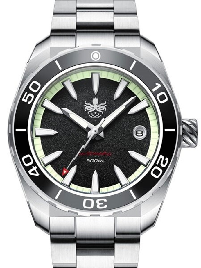 PHOIBOS Proteus 300-Meter Automatic Dive Watch with AR Double Dome Sapphire Crystal #PY024C