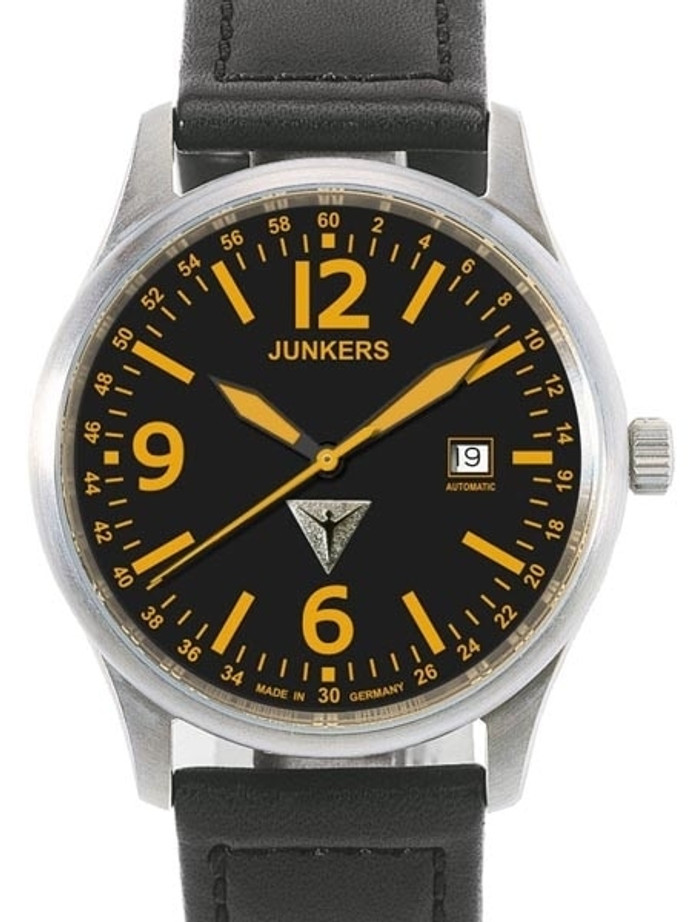 Junkers G-38 Swiss Automatic with Titanium Case with Sapphire Crystal #6272-5