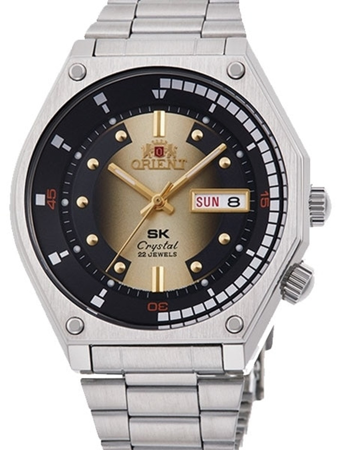 Orient SK Retro Reissue Automatic Dive Watch on a Bracelet #RA-AA0B01G19A