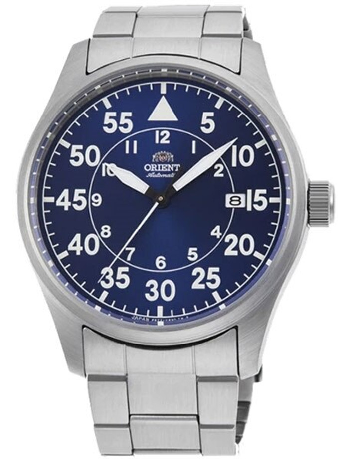 Orient 22-Jewel Automatic Watch with Hand Winding and Hacking #RA-AC0H01L10A