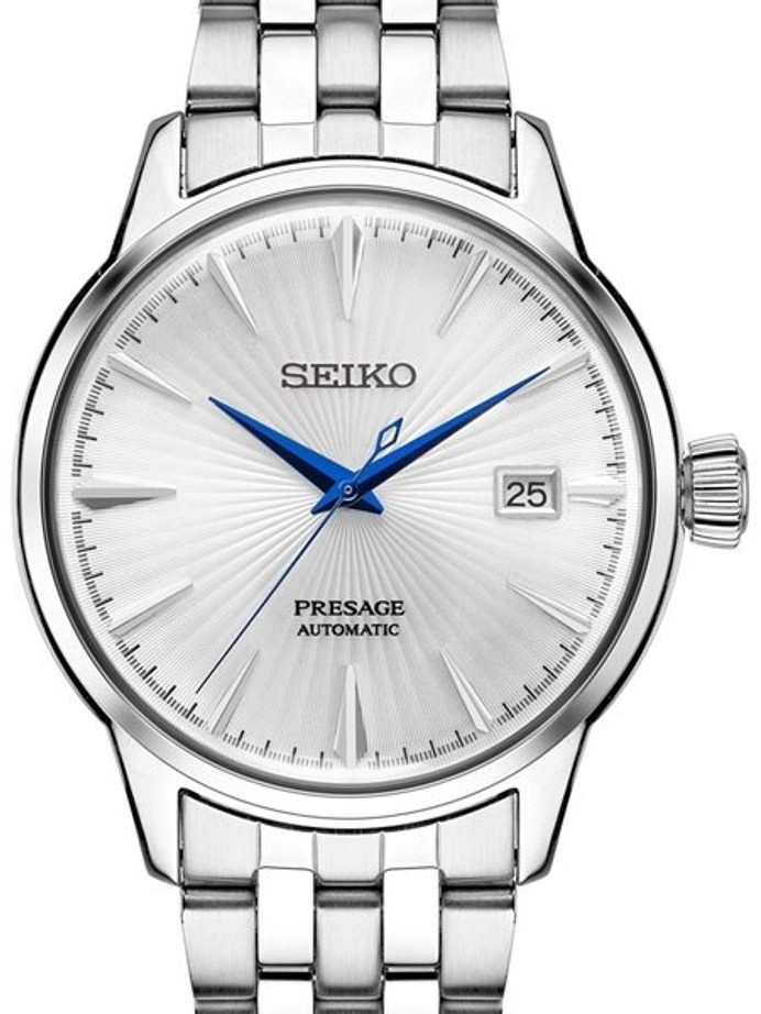 "Seiko Presage ""Cocktail Time"" Automatic Dress Watch with 40.5mm Case #SRPB77"