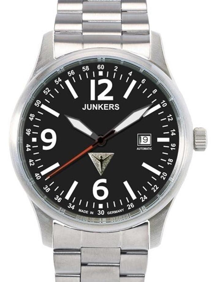 Junkers G-38 Titanium Swiss ETA Automatic Watch with Sapphire Crystal #6272M-2