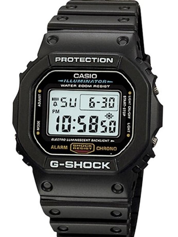 Casio G-SHOCK Multi-Function Chronograph Alarm Sport Watch #DW-5600E-1V