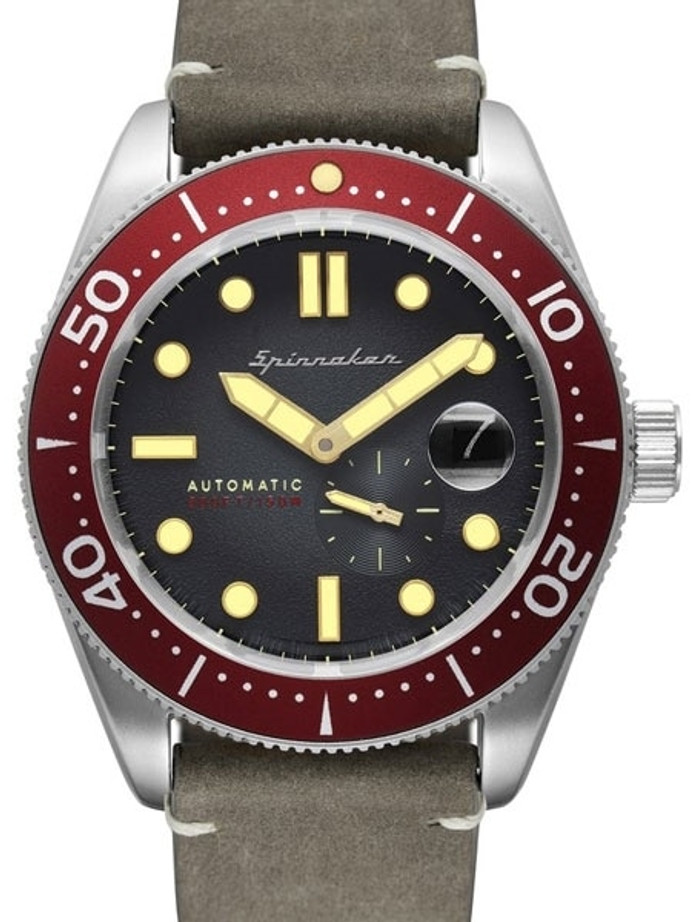 Spinnaker Croft Automatic Sports Watch with 43mm Case and Black Dial #SP-5058-05
