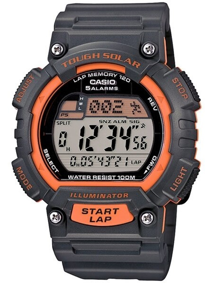 Casio Tough Solar-Light Powered Digital World Time Chronograph Alarm #STL-S100H-4AV