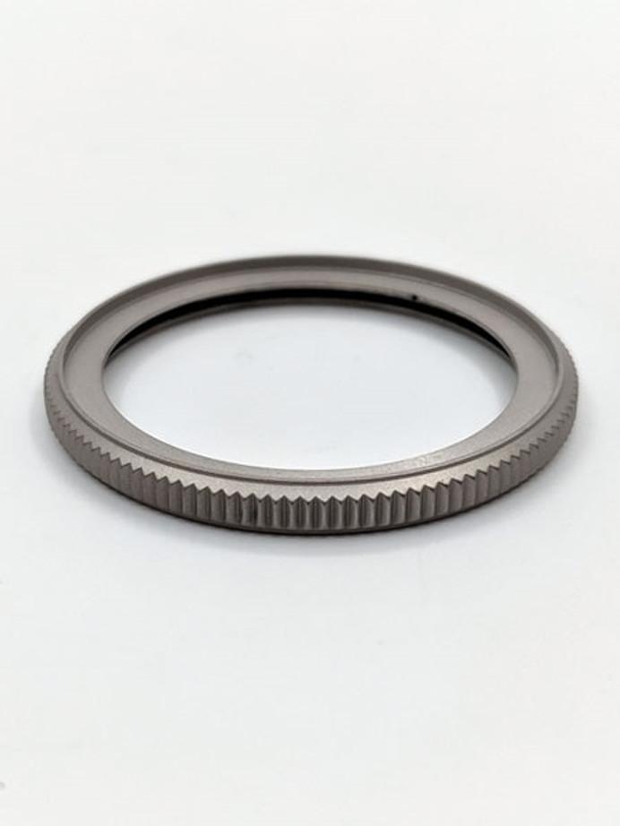 Matte Stainless Steel (Coin Edge) Bezel for Seiko SKX007, SKX009, SKX173, 175, 011, A35 #B01-M